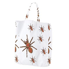 Nature Insect Natural Wildlife Giant Grocery Zipper Tote by Sapixe