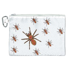 Nature Insect Natural Wildlife Canvas Cosmetic Bag (xl)
