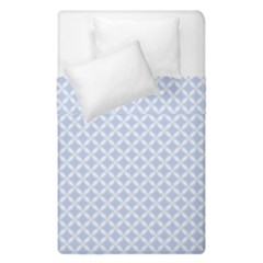 Alice Blue Hearts In An English Country Garden Duvet Cover Double Side (single Size) by PodArtist