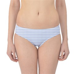 Alice Blue Hearts In An English Country Garden Hipster Bikini Bottoms by PodArtist