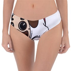 Pug Unicorn Dog Animal Puppy Reversible Classic Bikini Bottoms