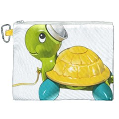 Turtle Sea Turtle Leatherback Turtle Canvas Cosmetic Bag (xxl)