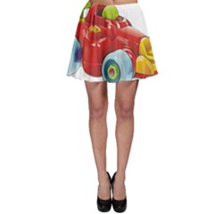 Car Vehicle Racing Car Formula Skater Skirt by Sapixe
