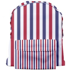 Usa Flag Red White And Flag Blue Wide Stripes Giant Full Print Backpack