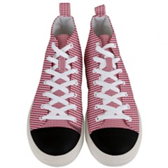 72244985 Men s Mid Top Canvas Sneakers