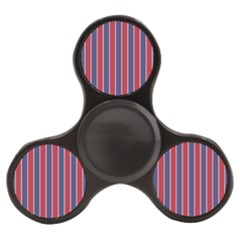 Large Red White And Blue Usa Memorial Day Holiday Pinstripe Finger Spinner by PodArtist