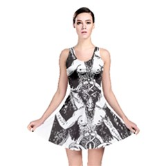 Devil Baphomet Occultism Reversible Skater Dress