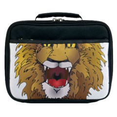 Lion Animal Roar Lion S Mane Comic Lunch Bag