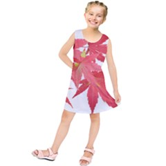 Leaves Maple Branch Autumn Fall Kids  Tunic Dress