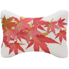 Leaves Maple Branch Autumn Fall Seat Head Rest Cushion by Sapixe