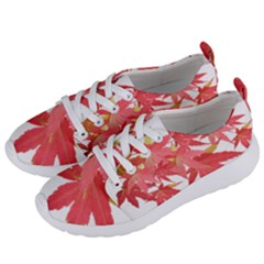 Leaves Maple Branch Autumn Fall Women s Lightweight Sports Shoes by Sapixe