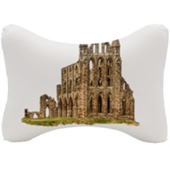 Ruin Monastery Abbey Gothic Whitby Seat Head Rest Cushion