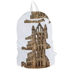 Ruin Monastery Abbey Gothic Whitby Foldable Lightweight Backpack by Sapixe