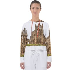 Ruin Monastery Abbey Gothic Whitby Women s Slouchy Sweat by Sapixe