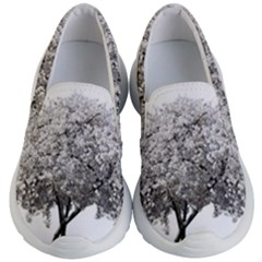 Nature Tree Blossom Bloom Cherry Kid s Lightweight Slip Ons by Sapixe