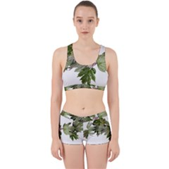 Leaves Plant Branch Nature Foliage Work It Out Gym Set by Sapixe