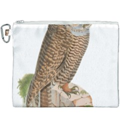 Bird Owl Animal Vintage Isolated Canvas Cosmetic Bag (xxxl) by Sapixe