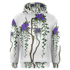Image Cropped Tree With Flowers Tree Men s Overhead Hoodie