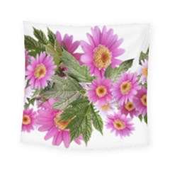 Daisies Flowers Arrangement Summer Square Tapestry (small) by Sapixe