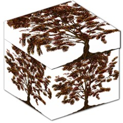 Tree Vector Ornament Color Storage Stool 12   by Sapixe