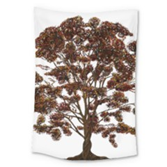 Tree Vector Ornament Color Large Tapestry