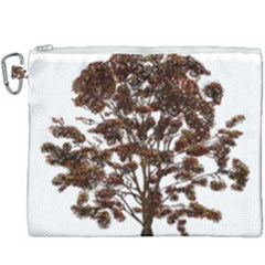 Tree Vector Ornament Color Canvas Cosmetic Bag (xxxl) by Sapixe