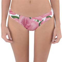 Flower Plant Blossom Bloom Vintage Reversible Hipster Bikini Bottoms
