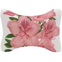 Flower Plant Blossom Bloom Vintage Seat Head Rest Cushion by Sapixe