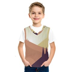 Sky Art Silhouette Panoramic Kids  Sportswear