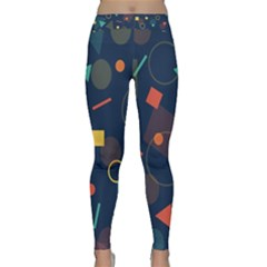 Background Backdrop Geometric Classic Yoga Leggings by Sapixe