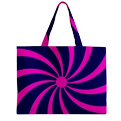 Illustration Abstract Wallpaper Zipper Mini Tote Bag