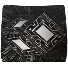 Technoid Future Robot Science Seat Cushion by Sapixe