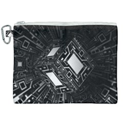 Technoid Future Robot Science Canvas Cosmetic Bag (xxl)