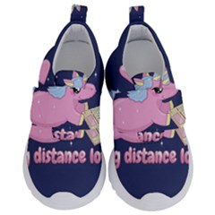 Long Distance Lover   Cute Unicorn Velcro Strap Shoes