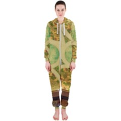 Gaylord Palms Hotel Dome Painted Hooded Jumpsuit (ladies)  by Sapixe