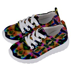 Butterfly Color Pop Art Kids  Lightweight Sports Shoes by Sapixe