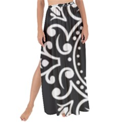 Table Pull Out Computer Graphics Maxi Chiffon Tie Up Sarong