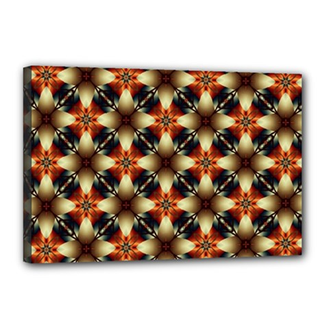 Kaleidoscope Image Background Canvas 18  X 12  by Sapixe