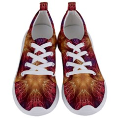 Fractal Abstract Artistic Women s Lightweight Sports Shoes