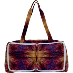 Fractal Abstract Artistic Multi Function Bag