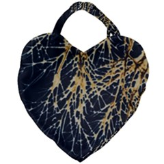 Nature Model No One Wallpaper Giant Heart Shaped Tote
