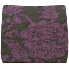 Purple Black Red Fabric Textile Seat Cushion