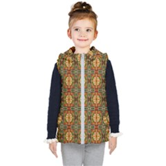 Artwork By Patrick Colorful 2 2 Kid s Hooded Puffer Vest