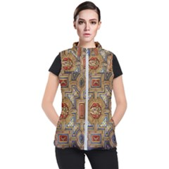 Church Ceiling Box Ceiling Painted Women s Puffer Vest