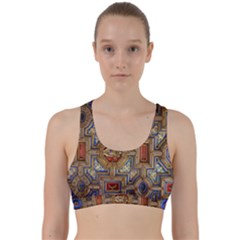 Church Ceiling Box Ceiling Painted Back Weave Sports Bra