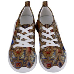 Church Ceiling Box Ceiling Painted Women s Lightweight Sports Shoes