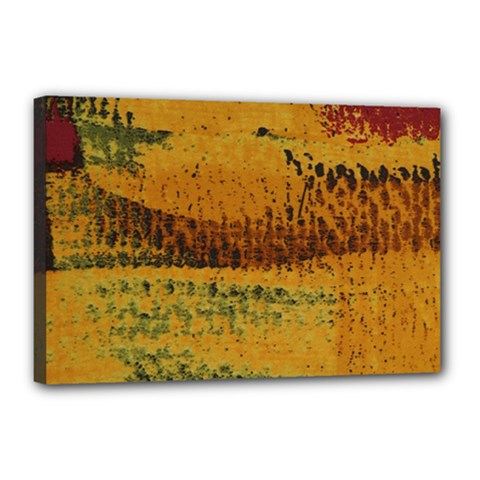 Fabric Textile Texture Abstract Canvas 18  X 12  by Sapixe