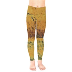 Fabric Textile Texture Abstract Kids  Legging by Sapixe