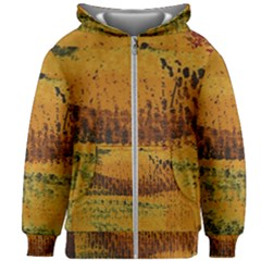 Fabric Textile Texture Abstract Kids Zipper Hoodie Without Drawstring