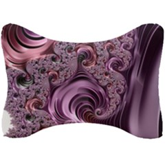 Abstract Art Fractal Art Fractal Seat Head Rest Cushion by Sapixe